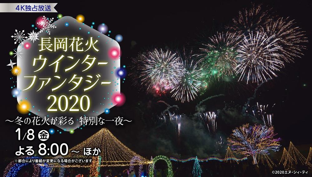 長岡花火ウインターファンタジー2020 ~冬の花火が彩る 特別な一夜~