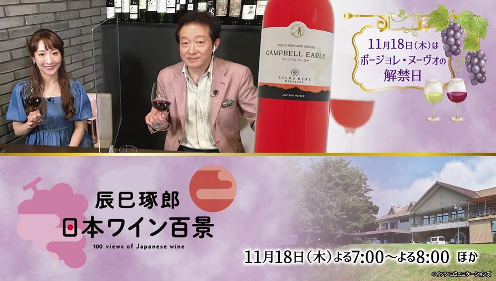 辰巳琢郎の日本ワイン百景